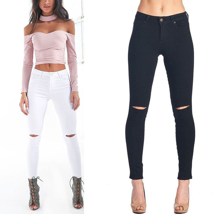 High Quality White Skinny Jeans-Buy Cheap White Skinny Jeans lots ...