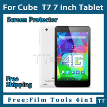 3 pieces/lot HD Screen protector for cube t7 7