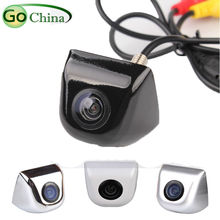 Rearview camera RCA/AVIN connector Wire parking camera 170 degree HD backup camera(Optional:Monitor/Rear Mirror/Parking Sensors)(China (Mainland))
