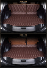 Citroen c3-xr QUATRE Triomphe elysee Picasso C2 C4 C5 C4L 3d leather car trunk mat suitcase pad free shipping black cream coffee(China (Mainland))