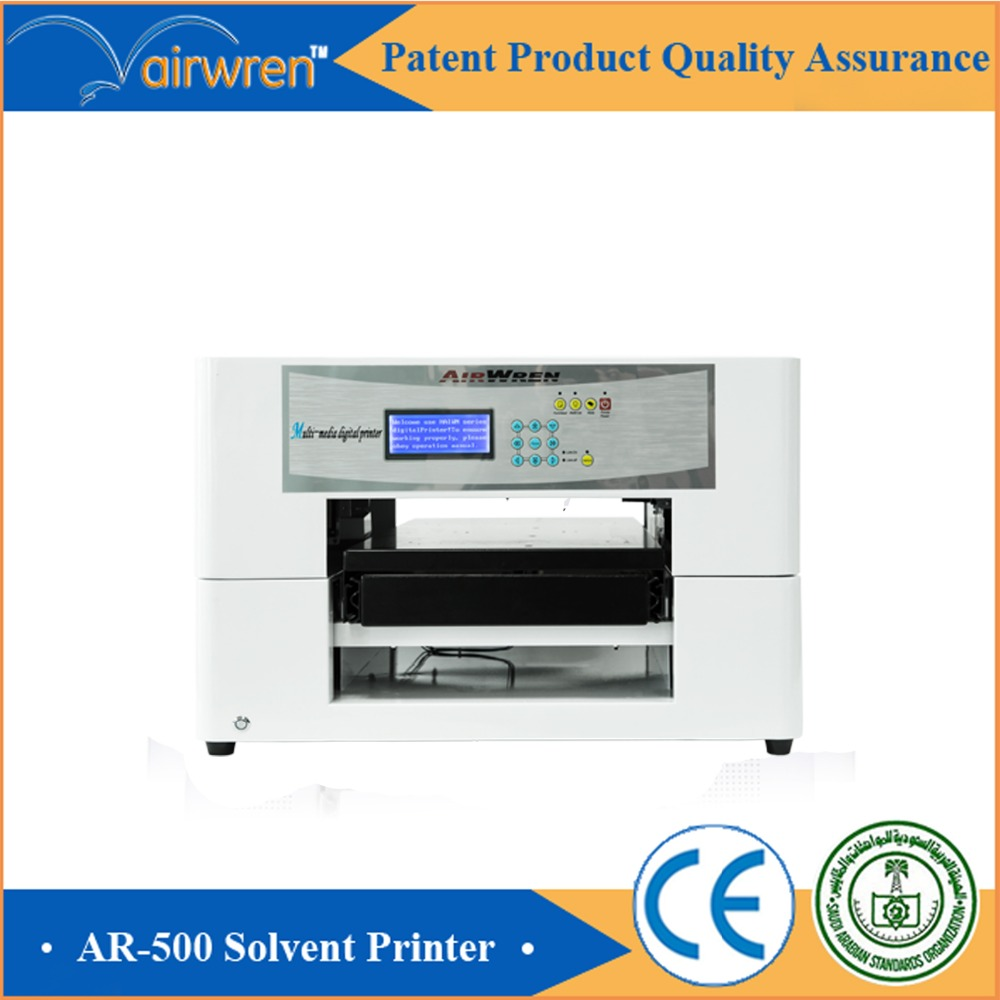 automatic multicolor iron sheet printing equipment solvent printer with rip software(China (Mainland))