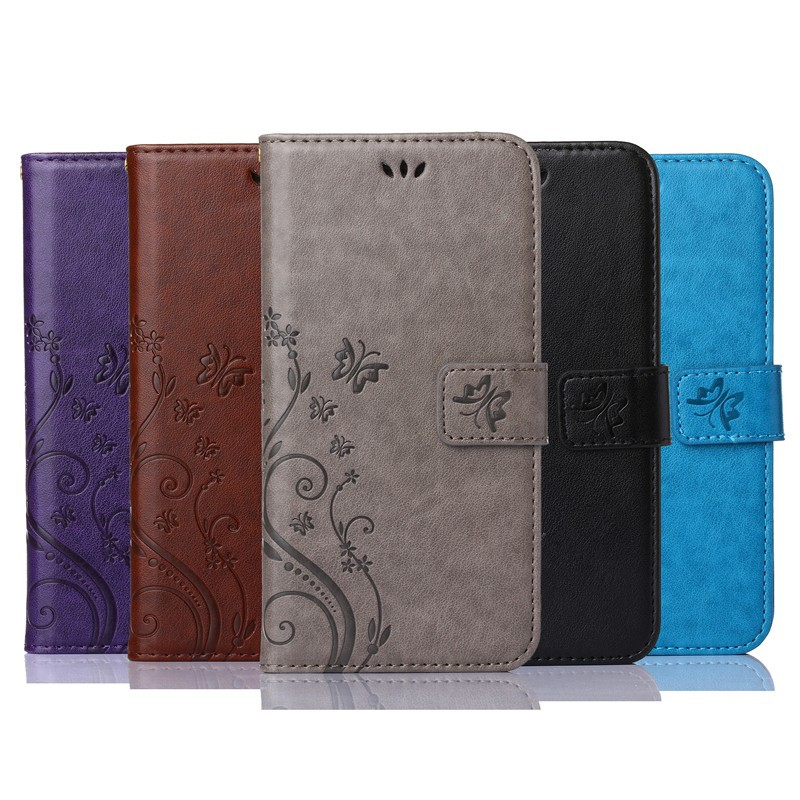 Luxury Leather Wallet Flip Cover Case For iPhone 4 4s 5 5s se 6s 6 Plus Case For Samsung Galaxy S4 S5 S6 S7 Edge Plus(China (Mainland))