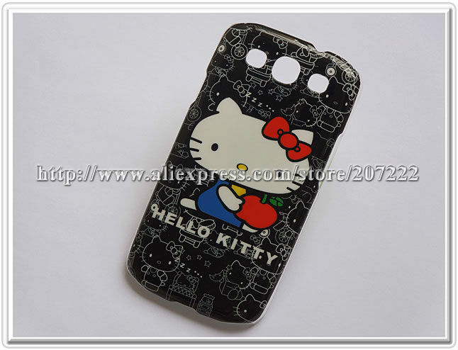 For Samsung Galaxy S III i9300 Hard Cell Phone Case Hello Kitty cases for I9300