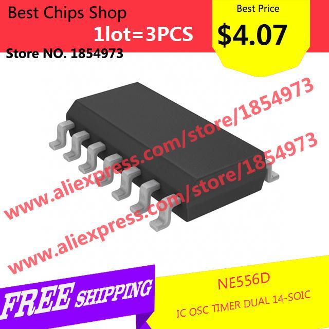 схемы NE556D IC OSC таймер