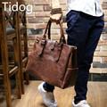 Tidog Crazy horse shaped Korean male bag casual bag Shoulder Bag Messenger Bag
