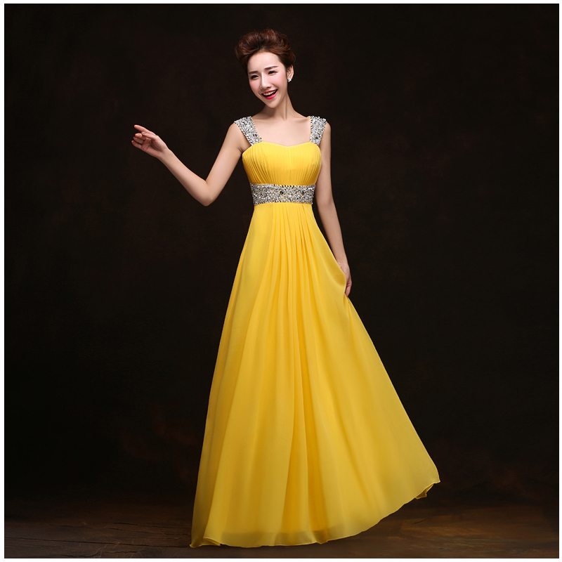 Yellow Evening Gowns Top Evening Dresses: W...