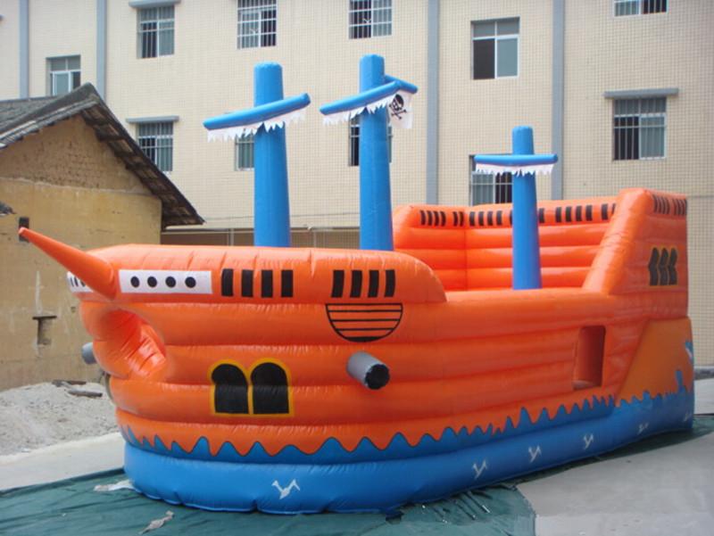 Barco pirata pvc mm anime cartoon castillo inflable - Cama barco pirata ...