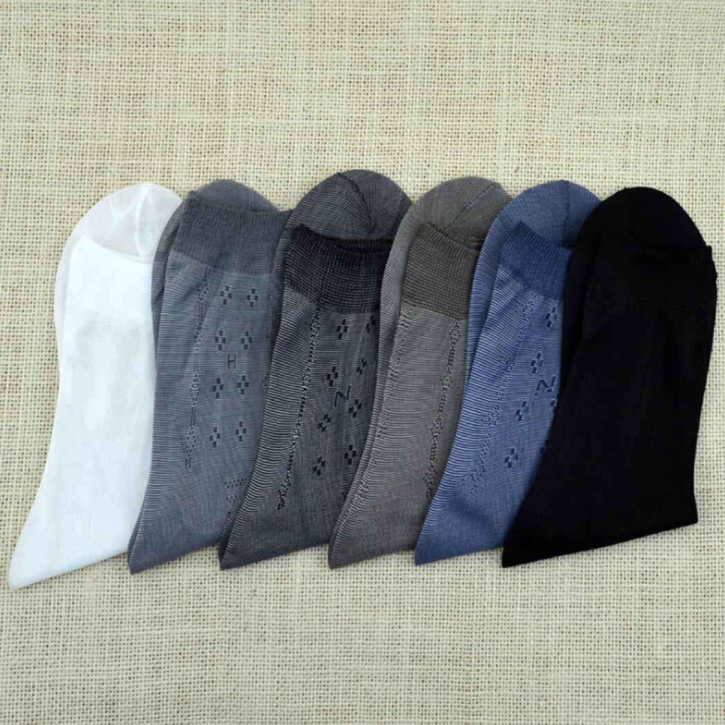 10 Pairs Mens Business Socks Breathable Bamboo Charcoal Socks Men Casual Sheer Dress Thin Socks 102(China (Mainland))