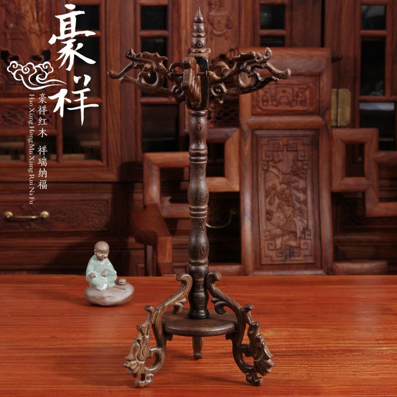 Wooden penholder pen hanging wooden hanging rack hanging jade brush penholder large wholesale manufacturers(China (Mainland))