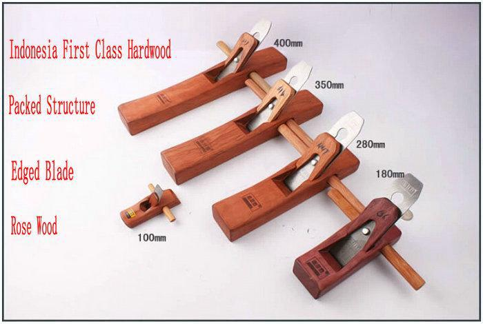 Five Different Sizes/LOT Luxury Rose Wood Workmanship Hand Tool Woodworking Plane Wood Plane Smoother Household DIY Tool(China (Mainland))