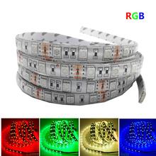 0.5/1/2/3/4/5M LED Strip Light 5050 SMD RGB Led Tape Not waterproof Led Stripe Bar Light String Holiday Decoration Lights DC12V(China (Mainland))