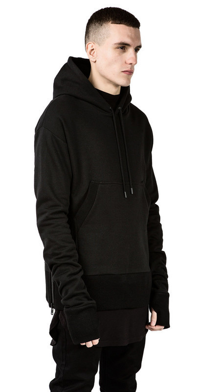 Black Pullover Hoodie For Men | Fashion Ql