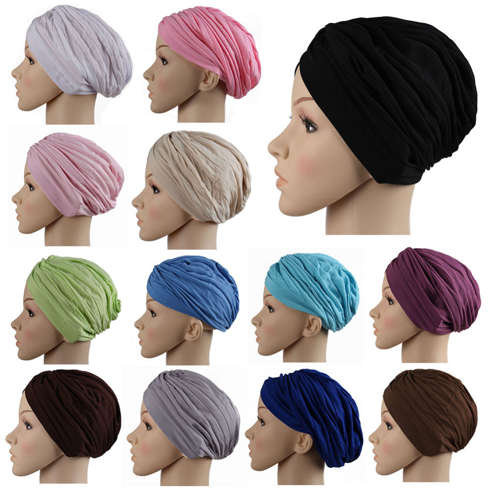 2016 fashion muslim scarf hijab shawl Muslim pure colors Denim Cap Hijab Hat Caps Women Turban Headwear muslim scarf womenr(China (Mainland))