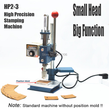 HP2-3 High Precision Stamping Machine,leather printer,Creasing machine,marking press,embossing machine(2*3cm 220V)