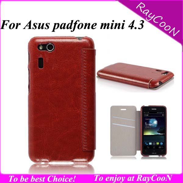 asus padfone mini 4.3 inch cellphone cases,PU Leather mobile phone protective cover Asus - RayCooN store