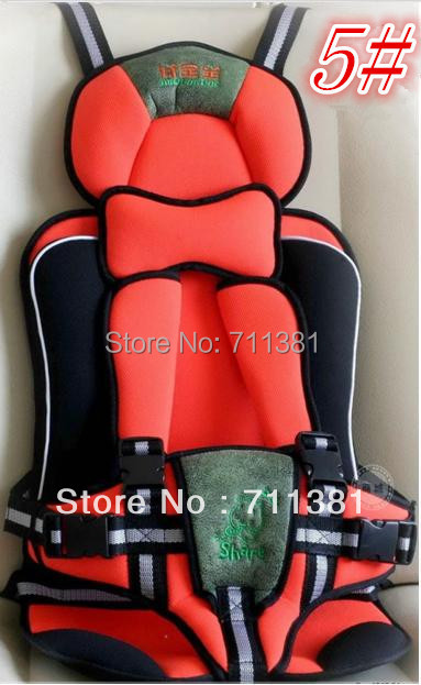 Free Shipping Child Car Safety Seat With The Honesty Service Fast Delivery Toddler Car Seat 7 Colors For Parents' Option(China (Mainland))