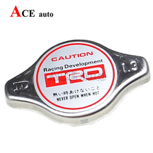 ACE-Universal RACING Thermost Radiator Cap Brand Version TRD water Tank cover Radiator Cap cover High pressure Big / Small