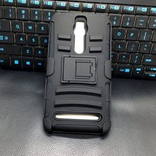 Outdoor Heavy Duty Armor Silicone Protective Phone Case For ASUS Zenfone 2 ZE551ML Case Flip Back Cover with Belt Clip Holster(China (Mainland))