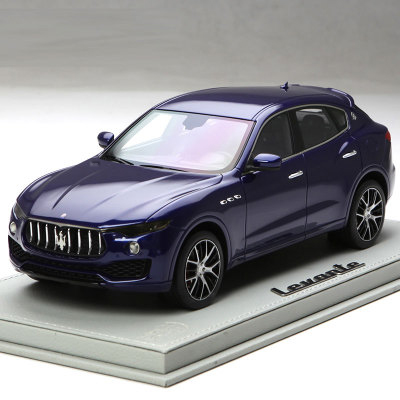 * Blue BBR Resin Model Car for 1:18 Maserati Levante Luxury SUV Resin Toys Gifts Collection Minicar(China (Mainland))