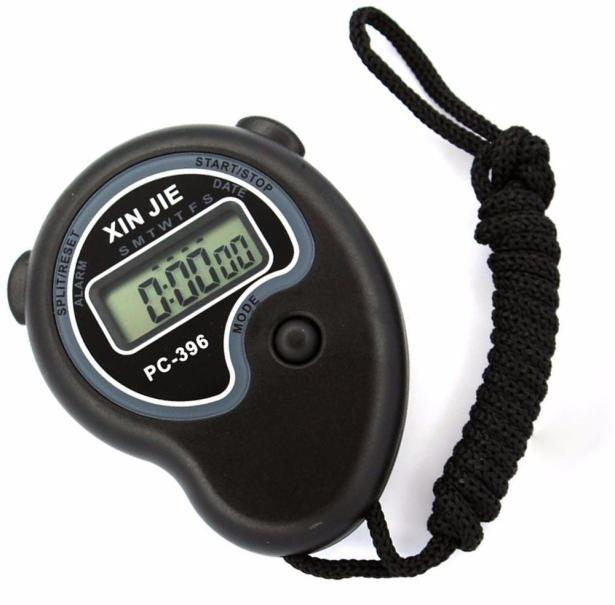 Irisshine i0522 Digital Professional Handheld LCD Chronograph Sports Stopwatch Timer Stop Watch