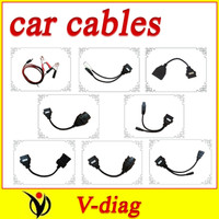 full set 8 cables cable  of car for delphi ds150 ds150e cdp pro best price and best service
