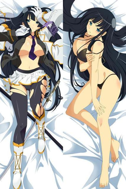Senran Kagura Ikaruga Dakimakura / Hugging Pillow Case #1122 (full color)
