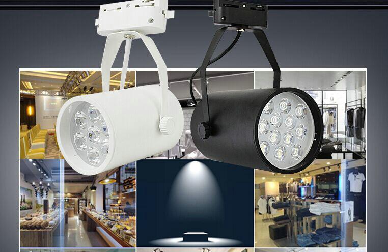 2015 new design  Lights track down light  Spot 4pcs/lot 5w 7w 12w18wled Down Light With 100lm/w Lumen Led Lights,free Shipping<br><br>Aliexpress