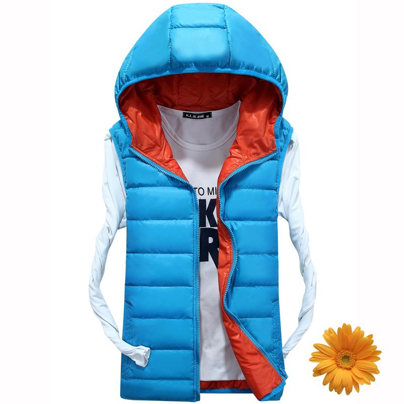 Lovers Camping Sportswear Vest Men Winter Windproof Veste Male Hooded Vests Women Cotton Padded Sleeveless Jacket Waistcoat New<br><br>Aliexpress