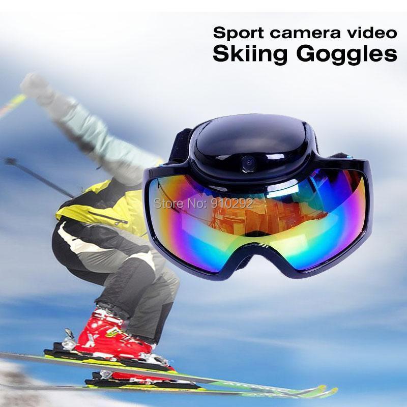 New HD 720P Mini Action Sport Camera Video Skiing Goggles Camcorder Snow Camera Ski Glasses DV DVR Recorder(China (Mainland))