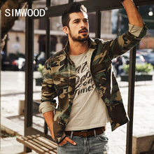 Buy SIMWOOD 2017 New Arrival Spring Casual Camouflage Shirts Long Sleeve Men Slim Fit CS1578 for $25.45 in AliExpress store