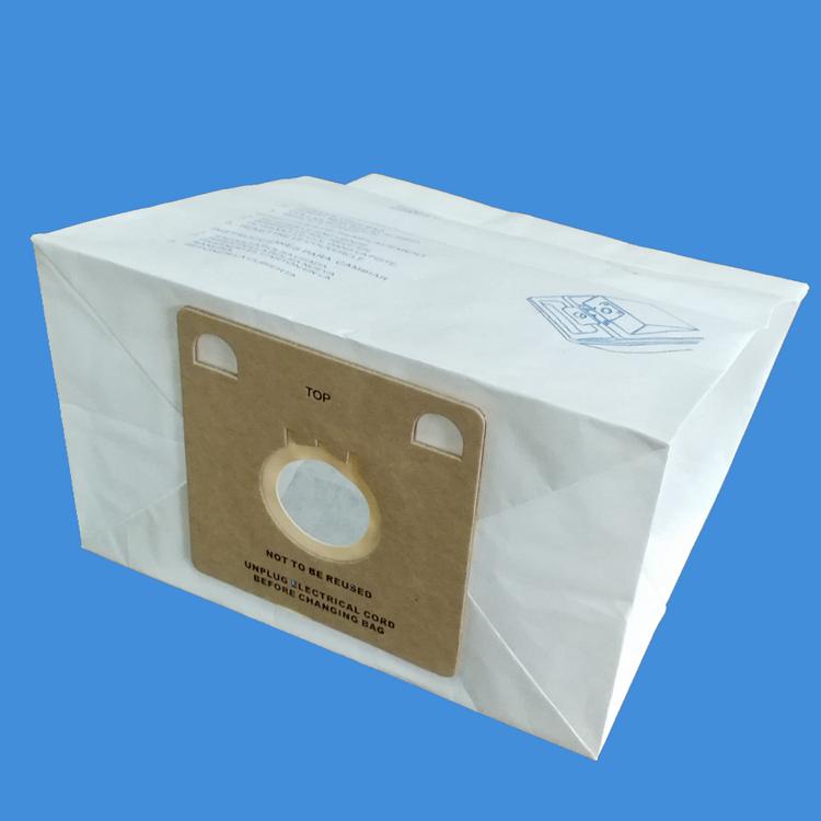 12pcs of vacuum cleaner bags replacement Eureka V vacuum paper filter bags dust collercto paper bags(China (Mainland))