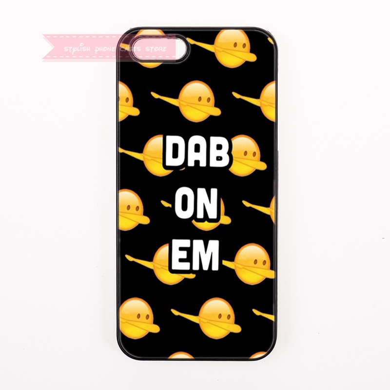 tough cover case for iphone 4 4s 5 5s 5c se 6 6S 7 Plus iPod Touch cases emoji dab on em pattern cartoon funny face for boy girl(China (Mainland))