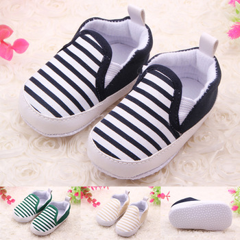 Brand Children Baby Kids Boys Shoes Non-Slip Striped Toddlers First Walkers Bebes Zapatos Ninas Newborn Infantil