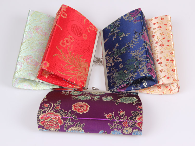 Excellent Quality women coin purse,lady change purse,Silk coin wallet,Female money bag wallet free shipping(China (Mainland))