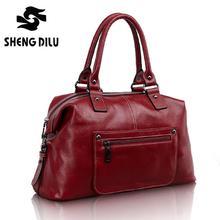 100% натуральная кожа женщин сумки сплошной мода женский сумка из натуральной кожи сумка cross body bolsas кожаная сумка