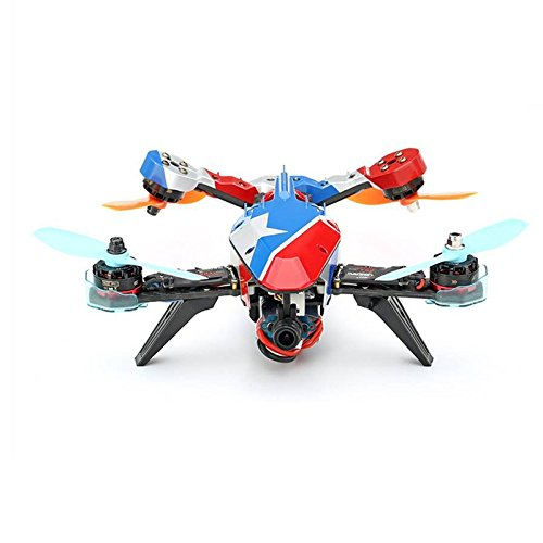 F19757 Happymodel V-tail 210 FPV Drone ARF PNF Kit (NO TX RX) 1080P HD DVR/ SP Racing F3 FC/ 5.8G 40CH 200mW VTX / OSD/ GPS/ LED