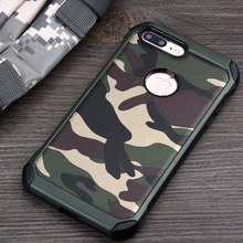 Buy KEYSION Phone Case iPhone 7 7Plus 2in1 Armor Hybrid Plastic+TPU Army Camo Camouflage Back cover iphone7 7Plus for $5.25 in AliExpress store