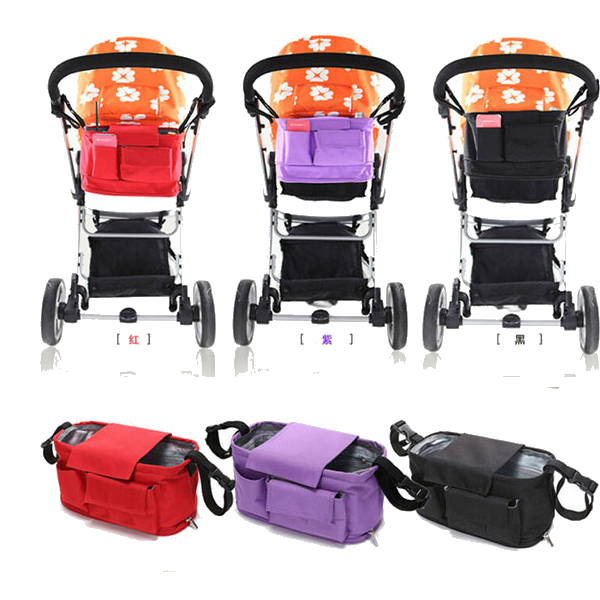 baby stroller bags organizer nappy bags stroller accessories baby pram products buggy storage. Black Bedroom Furniture Sets. Home Design Ideas