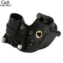 2016 Hot Sell New Black Plastic Thermostat Housing with Thermostat Fit For Explorer Mountaineer 4.0L Ford Fast shipping US68(China (Mainland))