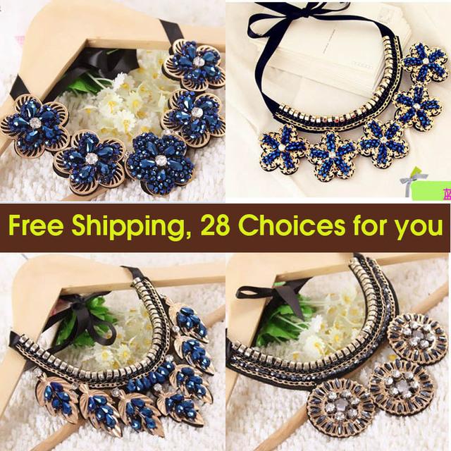2015 новая Мода оптовая ожерелье кристалл chocker биб ложные воротник аксессуары ...