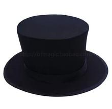 Plegable sombrero de copa del truco de magia etapa Prop del mago trucos de magia apoyos mágicos