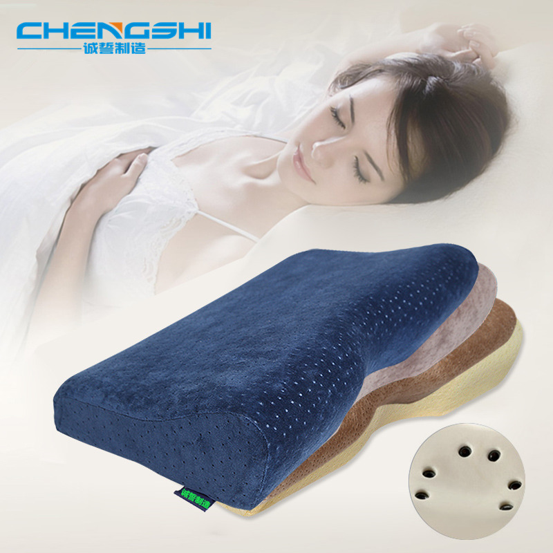 Mr & Miss Life Memory Foam Pillow Orthopedic Pillows Latex Pillow Neck Pillow Free Post(China (Mainland))