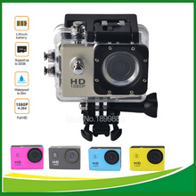 5MP FHD 1080P Action Digital Camera  2 inch Screen Photograph Camera Mini Camcorder Underwater waterproof Cameras Video Recorder(China (Mainland))