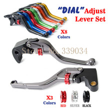 Roller Adjustable Brake Clutch Levers fit for Yamaha FZ6 Fazer S2 2004 2005 2006 2007 2008 2009 2010(China (Mainland))