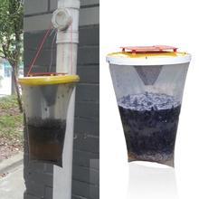 Fully functional Environmental Flies be Gone Non Toxic Fly Trap Flies Away For Home and Camping promotion free shipping(China (Mainland))