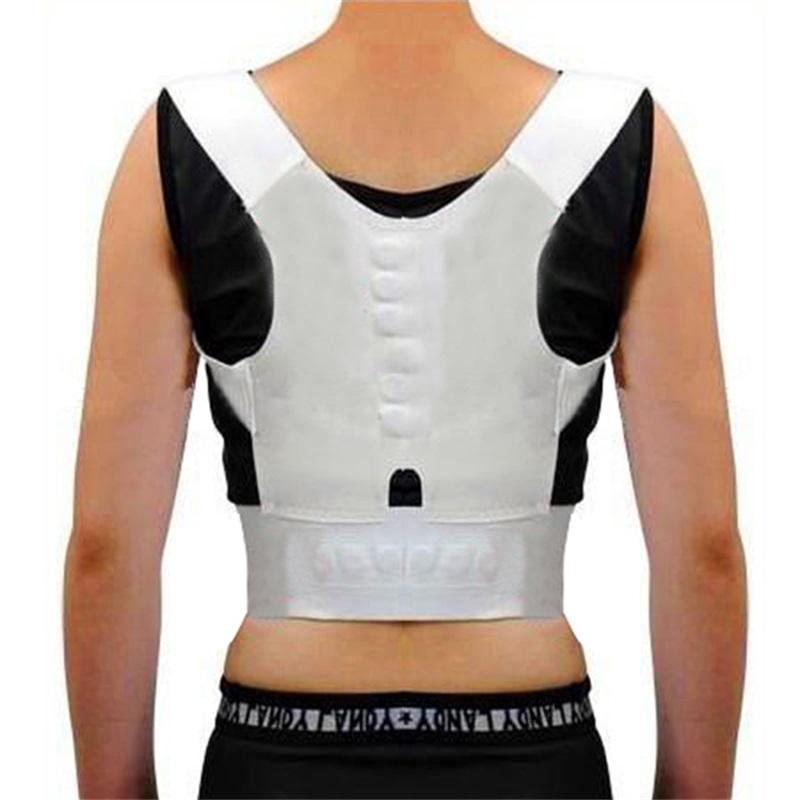 2015 Free Shipping Women Shoulder Support Bandage Lumbar Sport Back Brace Back Brace Posture Correction 2015 Lady Women(China (Mainland))