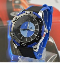 New arrival Fashion Quartz Watch With BMW Logo Outdoor Sports Wristwatch For Men Male Casual Brand Silicone Dress Analog Clock(China (Mainland))