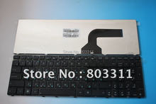 Brand new REPLACEMENT Laptop keyboard for ASUS G60 G60JX  K52  Service NSK-UGC0R RUSSIAN