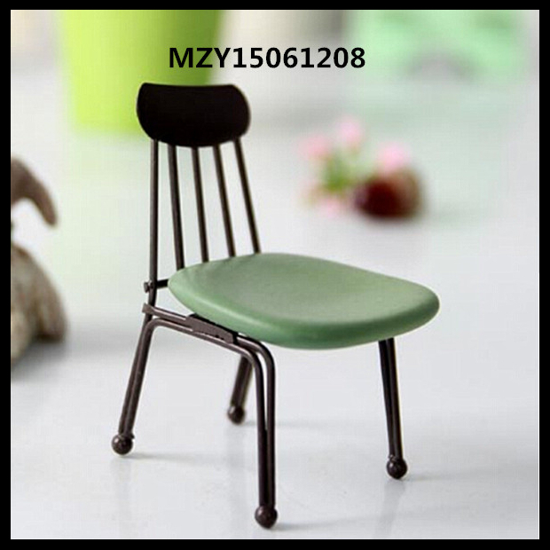 Free Shipping Mini Chair Metal+Plastic Chair Doll Office Chair Furniture Accessories For 11'' Doll 1/6 Doll(Hong Kong)