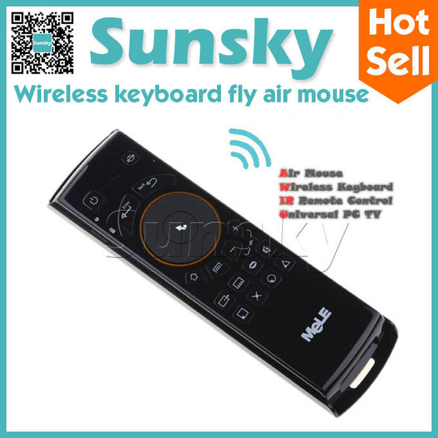 Mele F10 2.4GHz mini Wireless Keyboard Fly Air Mouse teclado Remote Control For Android Smart TV Box Desktop Laptop Mini PC